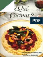 Que Cocinar- libro gastronomico