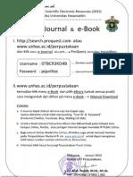 Password E-Journal UNHAS 2015