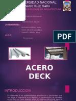 acero deck