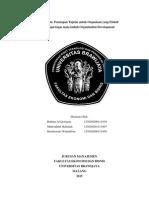 Penetapan Tujuan Untuk Organisasi Yang Efektif