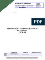 Pops-009 Desconexion y Conexion de Acoples en Tuberias (Barinas)