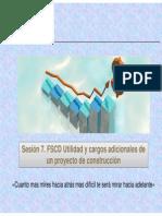 Sesion 8 FSCD Utilidad y Cargos Adicionales
