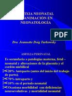 Reanimación Neonatal y Traumat Perinatal
