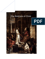 The Boldness of Christ