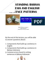 Lecture 4-Sentence Patterns