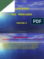 Estudio y Tecnicas de Proyeccción de Mercado Sesión 4 y 5