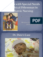 Children With Special Needs and Ethical Dilemmas