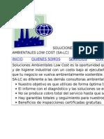Soluciones Ambientales Low Cost