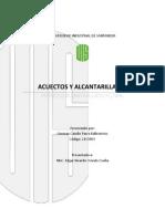 Informe Diseño Alcantarillado Pluvial