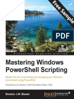 Mastering Windows PowerShell Scripting - Sample Chapter