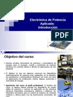 Introduccion a la electrónica de potencia