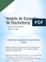 Modelo de Duopolio de Stackelberg