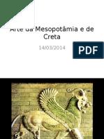 Arte Da Mesopotâmia e de Creta