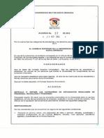 Acuerdo 12 de 2012-1