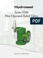 Hydroseal Series 3500 Pilot Operated Relief Valves