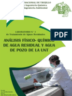 Análisis Fisco-Químico de Agua Residual
