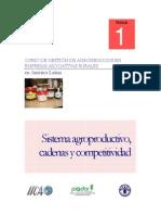 Sistema Agroproductivo, Cadena y Competitividad
