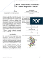 Various Coding Based Frameworks Suitable for Error Control in Genetic Sequence Analysis