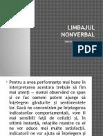 Limbajul Nonverbal-Interpretarea Gesturilor-curs 4