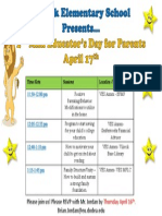 april 17th mini educators day for parents