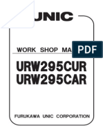 Unic Urw295car & Cur Shop Manual