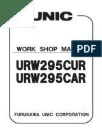 Unic Urw295car & Cur Shop Manual