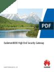Eudemon 8000 High-End Security Gateway (Eng)