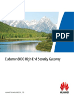 Eudemon 8000 High-End Security Gateway (Eng)
