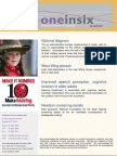 One in Six Newsletter - 23 April 2015