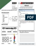 Fichas de Dreamweaver 05 - Lenguaje HTML