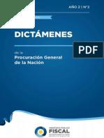 Dictamenes de La Procuracion General de La Nacion