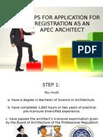 APEC Architects Steps