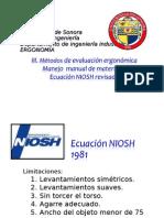 1 - 2015 biomecanica y NIOSH - alumnos 2a. parte.ppt