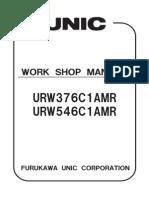 Unic 376c1am r546c1amr Work Shop Manual