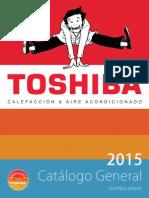 201504 Toshiba Catálogo General 2015