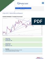 Forex Daily Forecast 23-Apr-2015-Bluemaxcapital-com