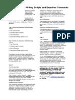General Training Writing Sample Scripts
