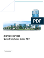 ZXCTN 9008&9004 Quick Installation Guide_R1.0