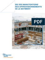 Dte 189 Guide Manutention Approvisionnement Batiment