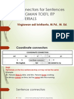Longman TOEFL Materials Connectors