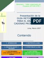 Guia Cadenas GCarrillo