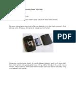 Cara Bongkar BlackBerry Curve 3G 9300.docx