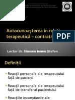 Autocunoastere+contratransfer