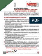 2051119-CCOO Exige El Calendario Laboral Para 2015 Que Los-As Trabajadores-As Se Merecen