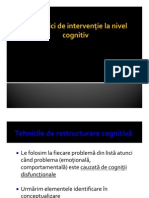 Tehnici Cognitive
