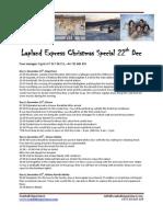 Lapland Express Cfdasfdshristmas Special 22 December 2014