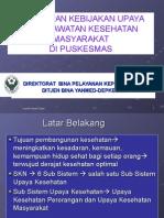 Penerapan Kebijakan Upaya Keperawatan Kesehatan Masyarakat di Puskesmas.ppt