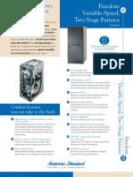 American Standard Furnace Brochure