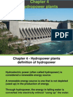 Chapter 4 Hydropower