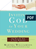 Inviting God to Your Wedding by Martha Williamson - Excerpt